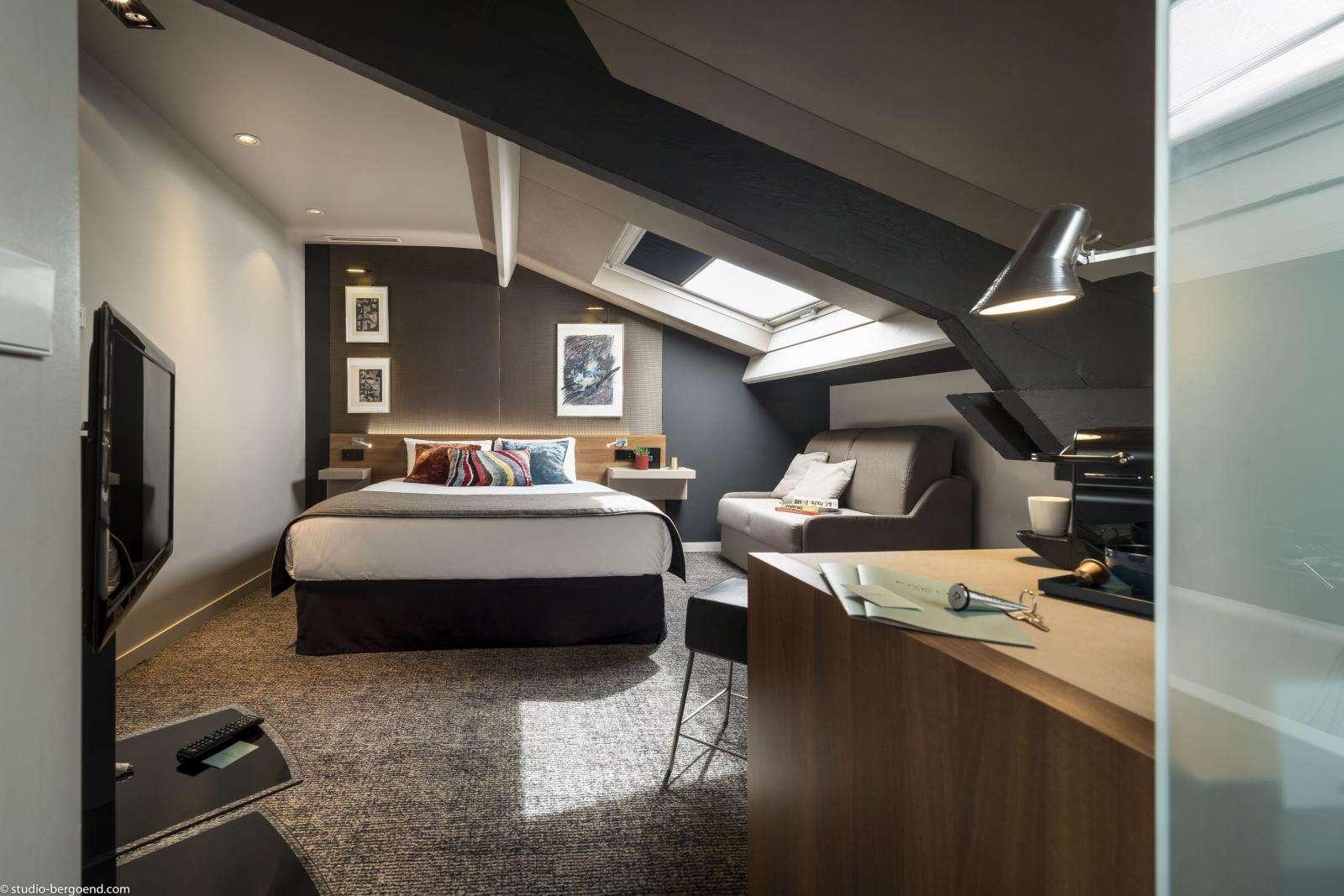 Les chambres de notre hôtel de charme à Paris   Fred Hotel Montparnasse